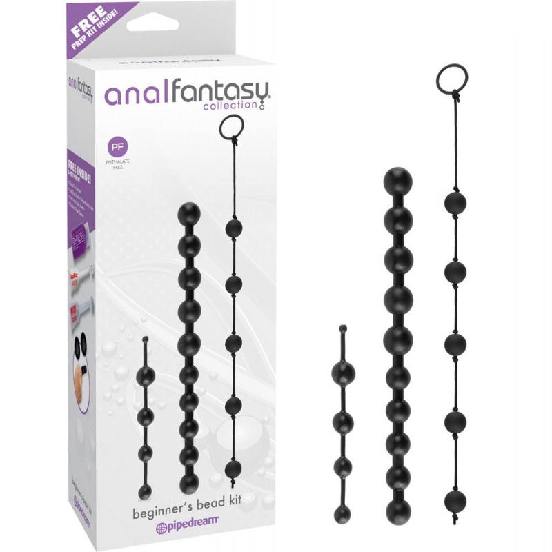 Комплект анални броеници за начинаещи – Beginner's Bead Kit