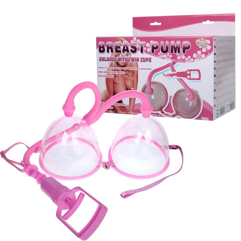 Двойна вакуумна помпа за гърди – Breast Pump Pink