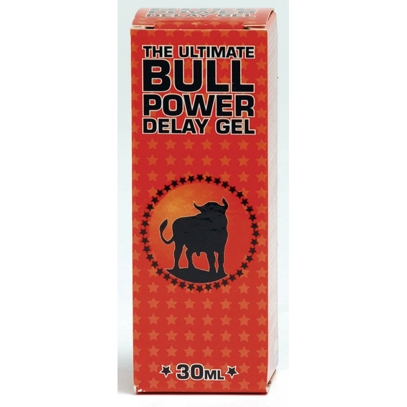 Гел за дълготраен секс, забавя свършването – Bull Power Delay Gel 30ml