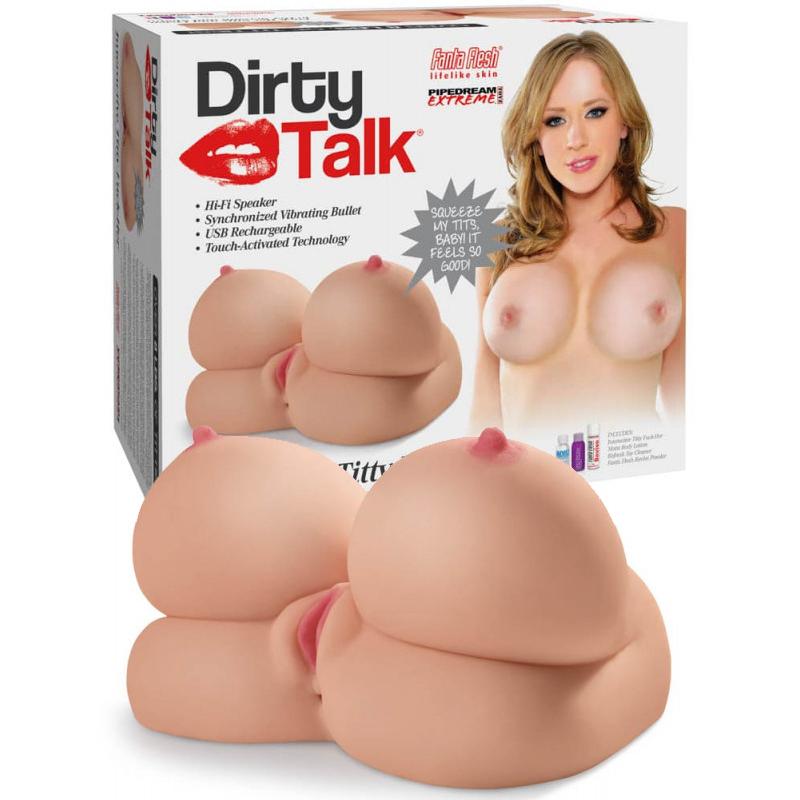 Интерактивен мастурбатор с гърди, вибрации и секси глас – Titty Fuck-Her