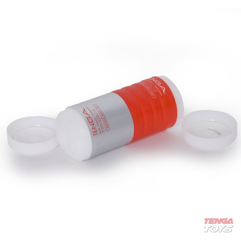 Мастурбатор с два отвора за двойно удоволствие – Tenga Double Hole Cup