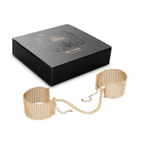 Стилни метални белезници в златен цвят – Desir Metallique