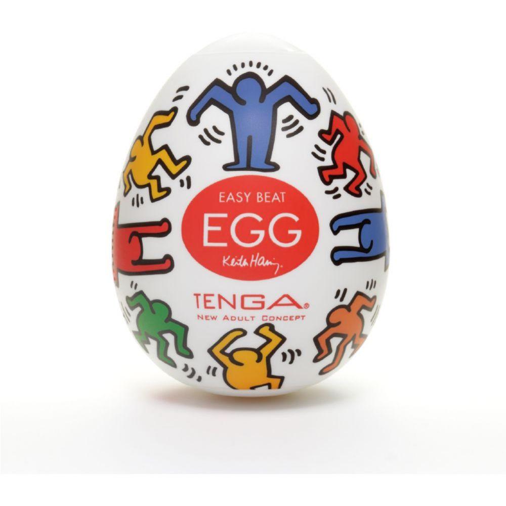 Мастурбатор яйце, нова концепция – Keith Haring Egg Dance