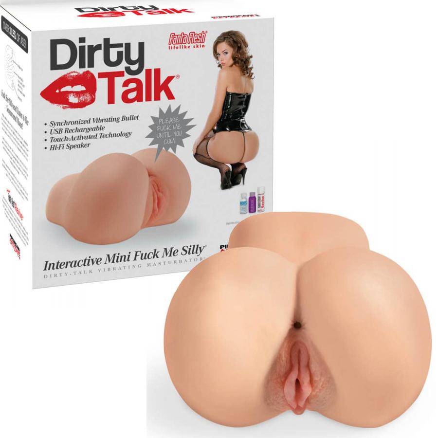 Мини интерактивен мастурбатор с вибрации, мръсни думи – Dirty Talk