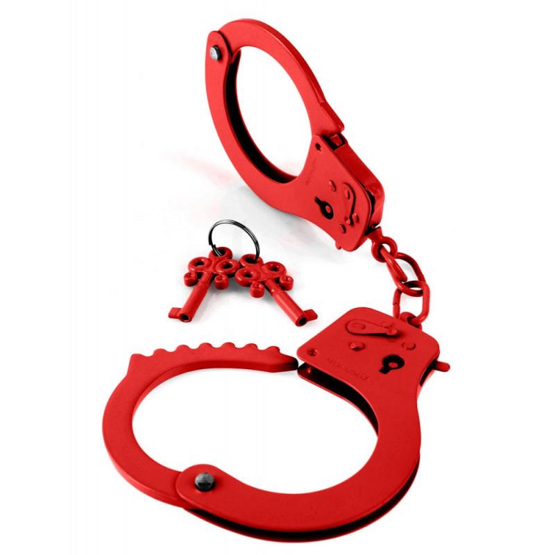 Белезници, дизайнерски в червено – Designer Cuffs Red