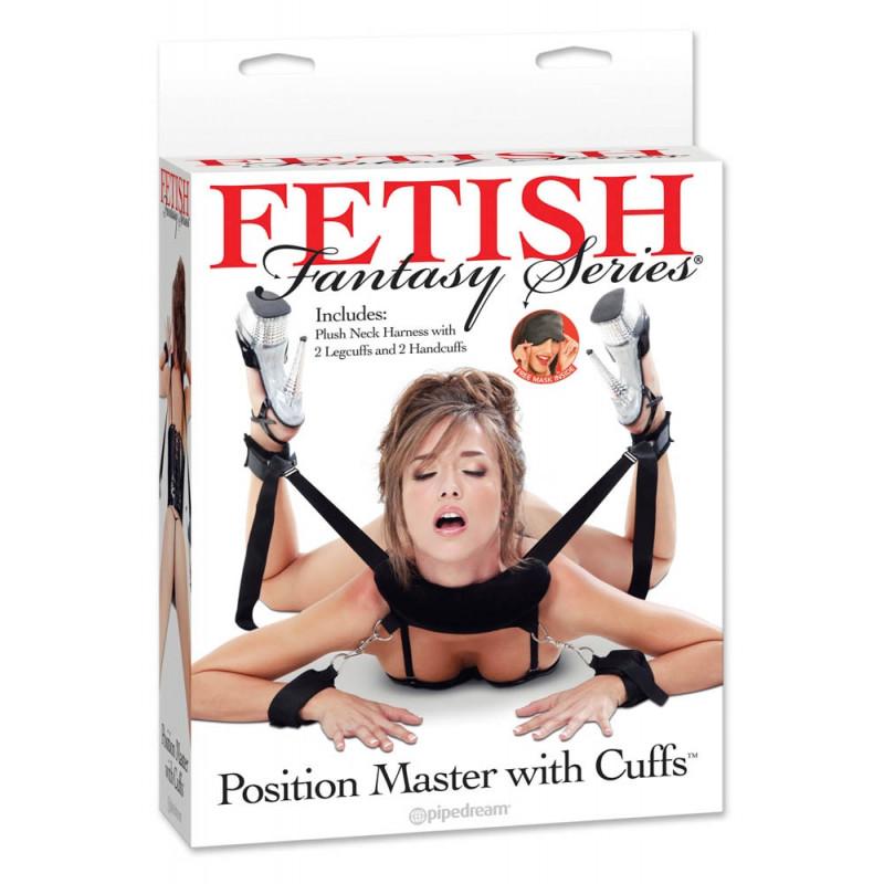 Пълна система за задържане, фетиш фантазия – Position Master With Cuffs