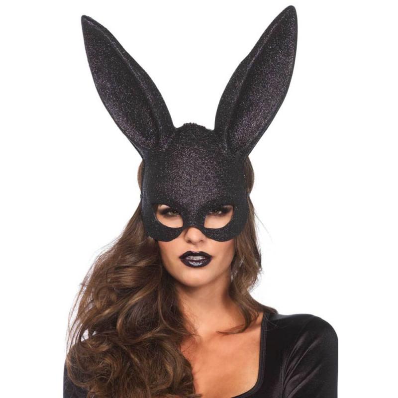 Маска, секси зайче, бляскав маскарад – Glitter Masquerade Rabbit Mask