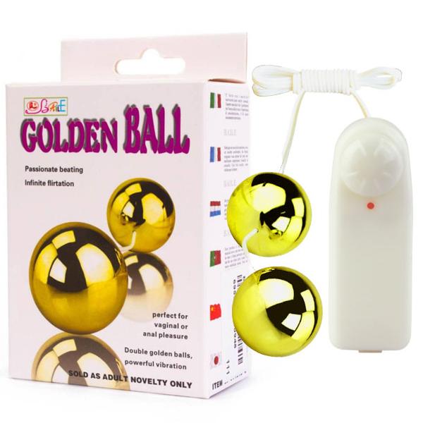 Вибриращи топчета с дистанционно управление – Golden Balls