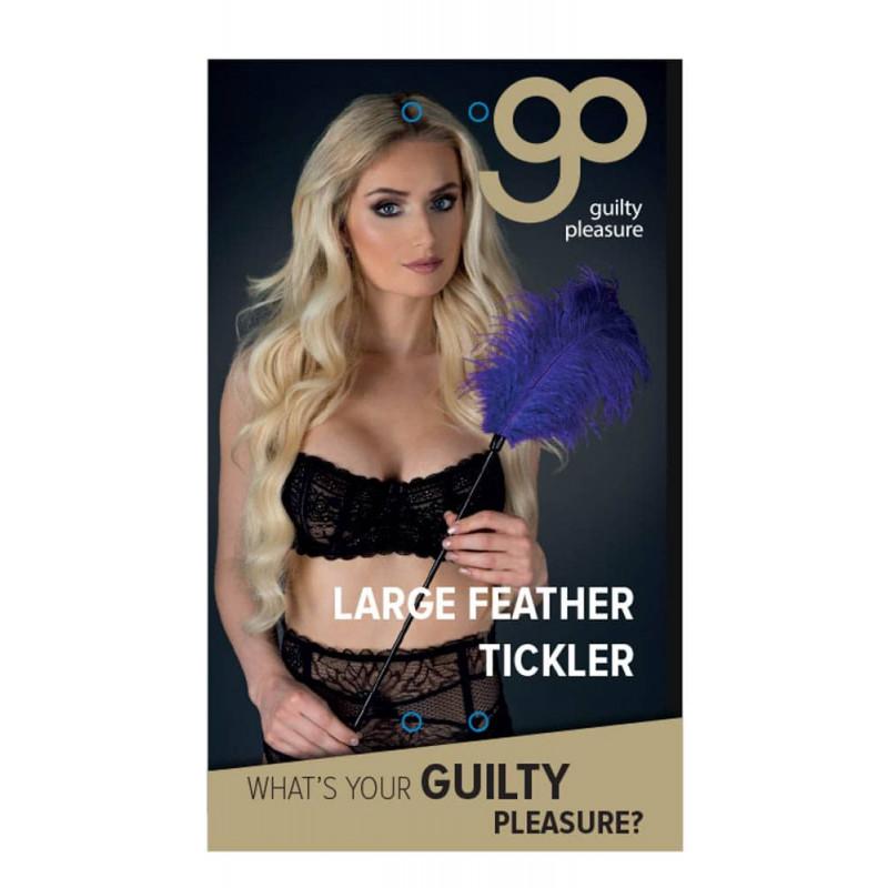 Голямо перо за безброй нежни моменти, лилаво – Large Feather Tickler