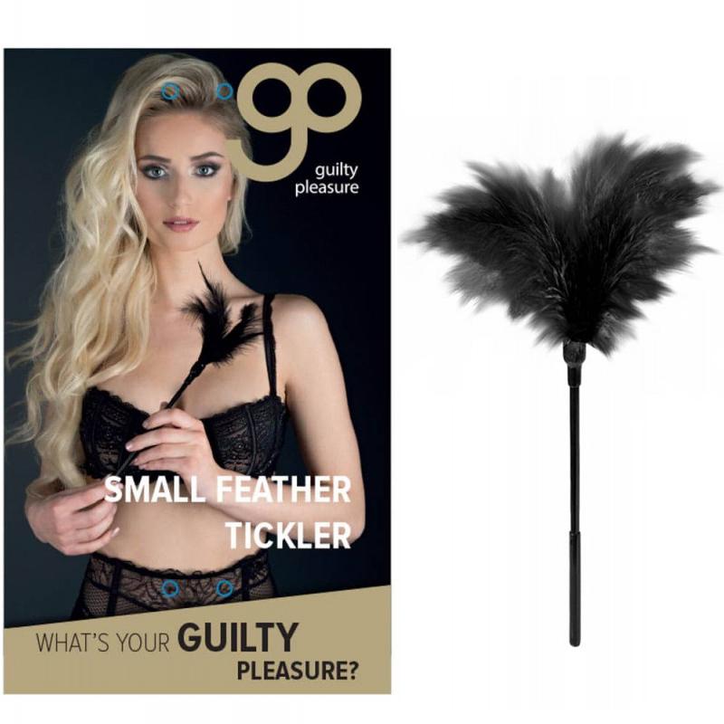 Перо за гъделичкане, малък размер – Feather Tickler Black
