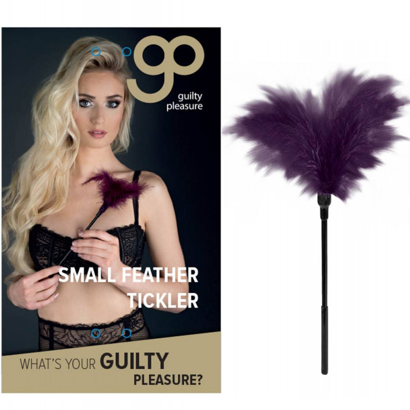 Перо за гъделичкане, малък размер – Feather Tickler Purple