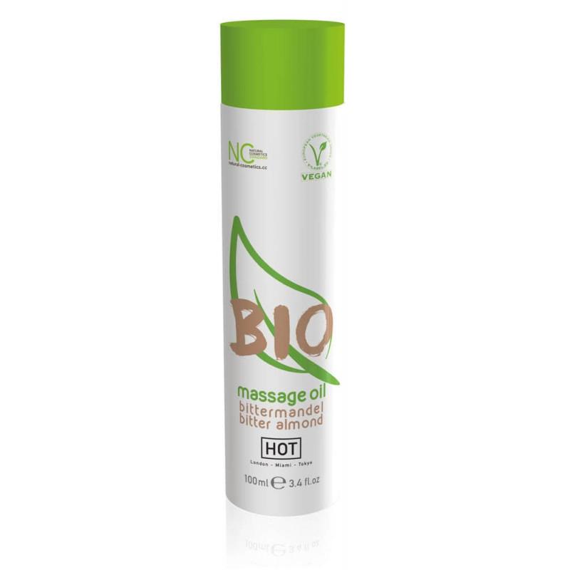 Био масажно масло, бадеми – HOT BIO massage oil bitter almond 100ml