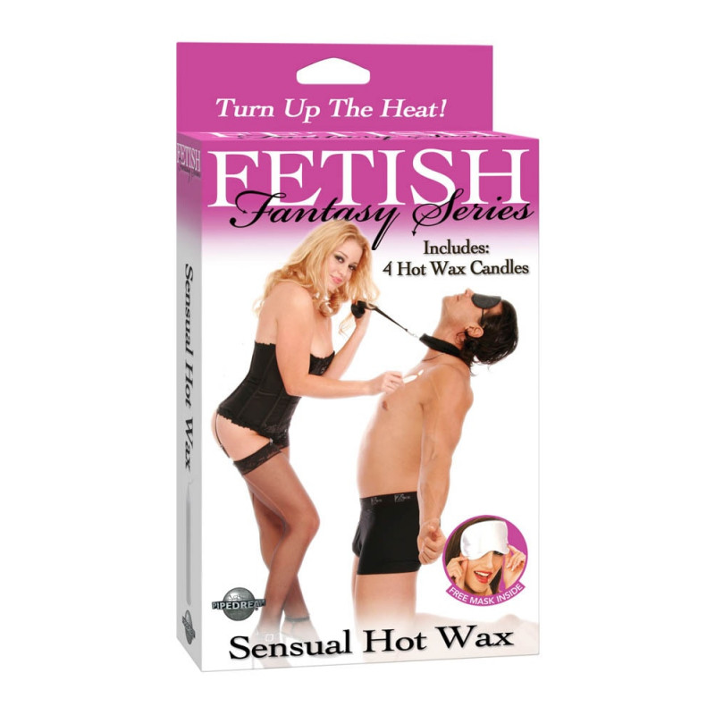 Свещи за еротична любовна игра 4бр. – Sensual Hot Wax