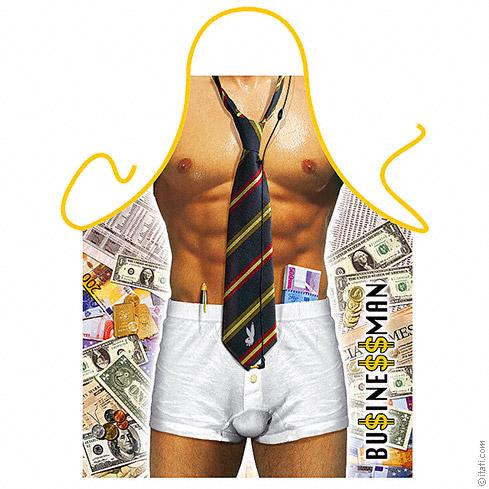 Секси готварска престилка, бизнесмен – Businessman