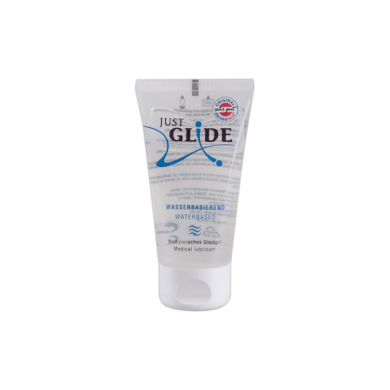 Лубрикант за дълготрайно смазване на водна основа – Just Glide Water 50ml