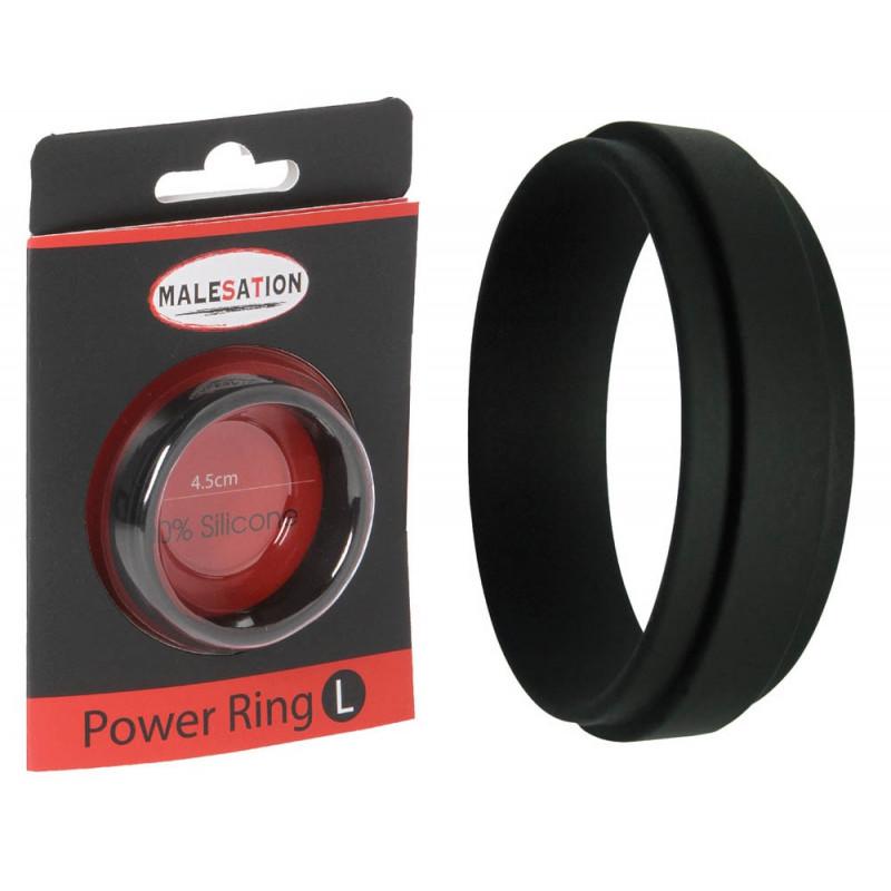 Пенис пръстен за мъжка мощ, размер L – Power Ring