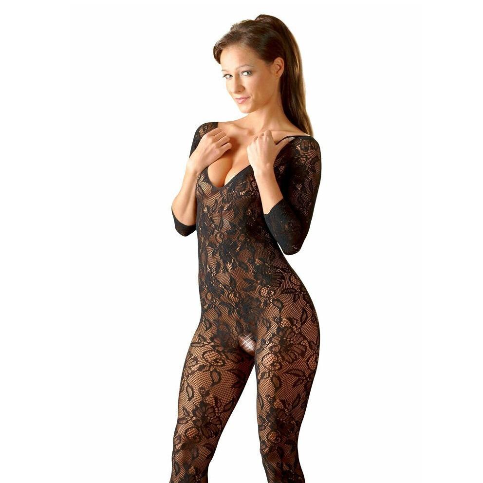 Боди в цял ръст с интимен отвор – Lace Catsuit S/L
