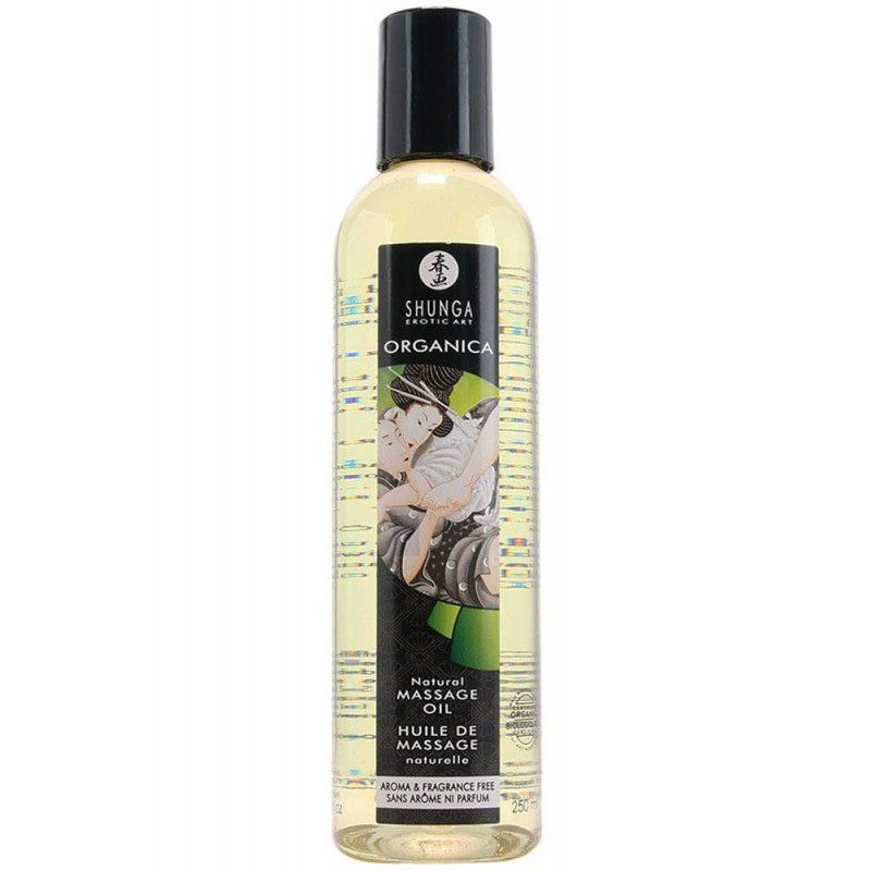 Натурално масажно масло – Erotic Massage, Natural