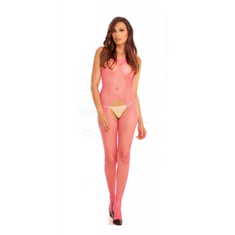 Мрежа за тяло, розова – Rene Rofe, Net Suspender
