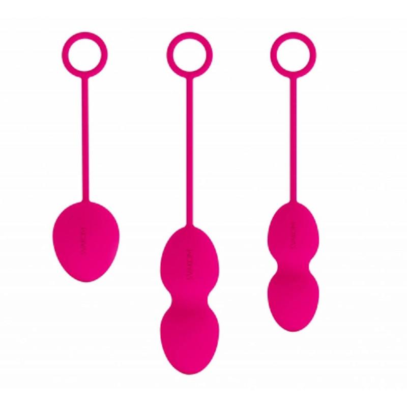 Комплект вагинални топчета, розови – Nova Ball
