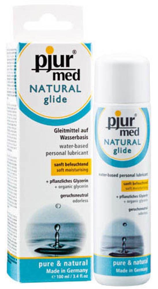 pjur® med NATURAL glide - 100 ml bottle