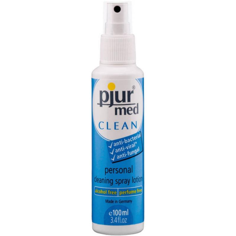 Спрей за нежно и хигиенично почистване – pjur® med CLEAN Spray 100ml