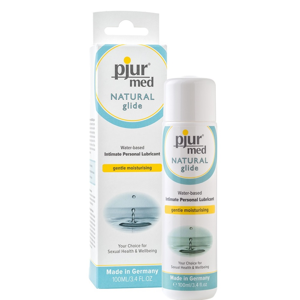 Билков лубрикант за суха кожа – Pjur® Med Natural Glide 100ml