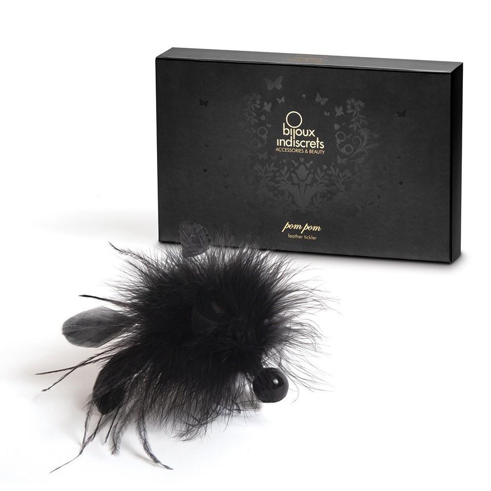 Перо за приятно докосване – Pom Pom Feather Tickler