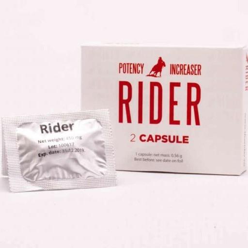 Виагра, вълшебни капсули за подобряване на потентността –  Rider