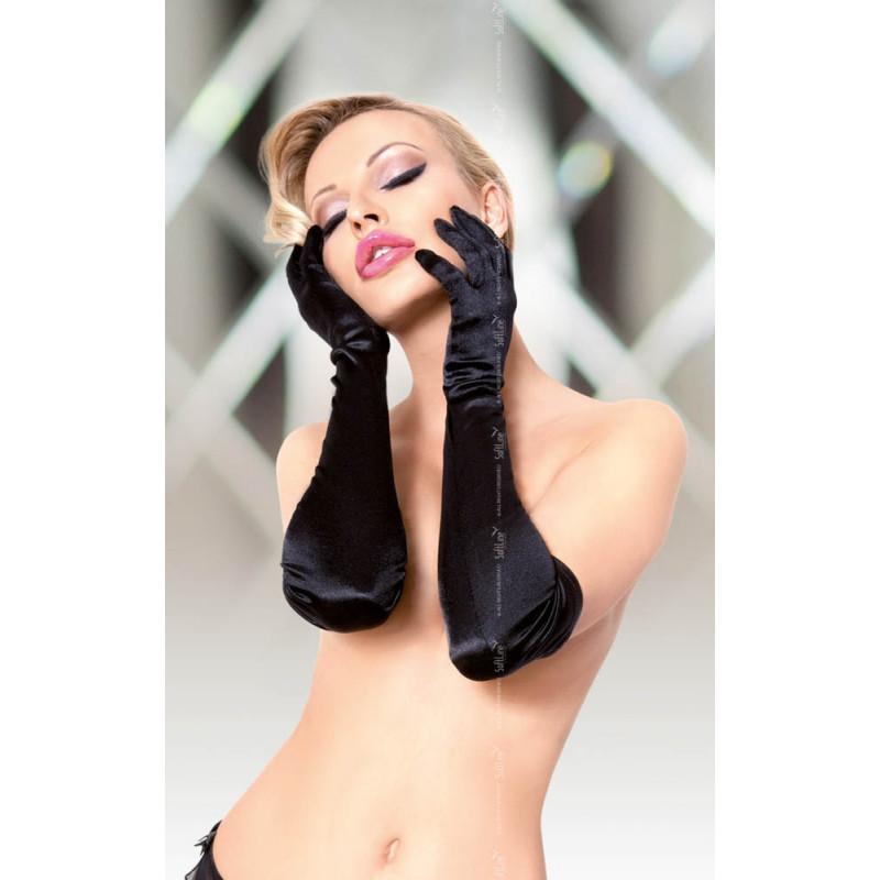 Сатенени ръкавици, очарователно нежни – Satin Gloves 7702