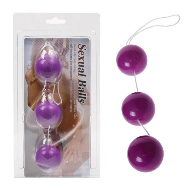 Анални топчета, лилави – Anal Balls