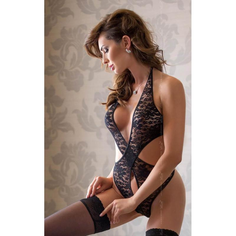 Еротично боди – Silvia Black S-L