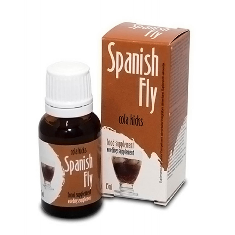 Афродизиак, испанска муха с вкус на кока-кола – Spanish Fly Cola Kicks 15ml