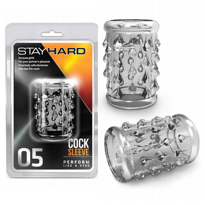 Пенис ръкав за допълнително удоволствие – Stay Hard 05