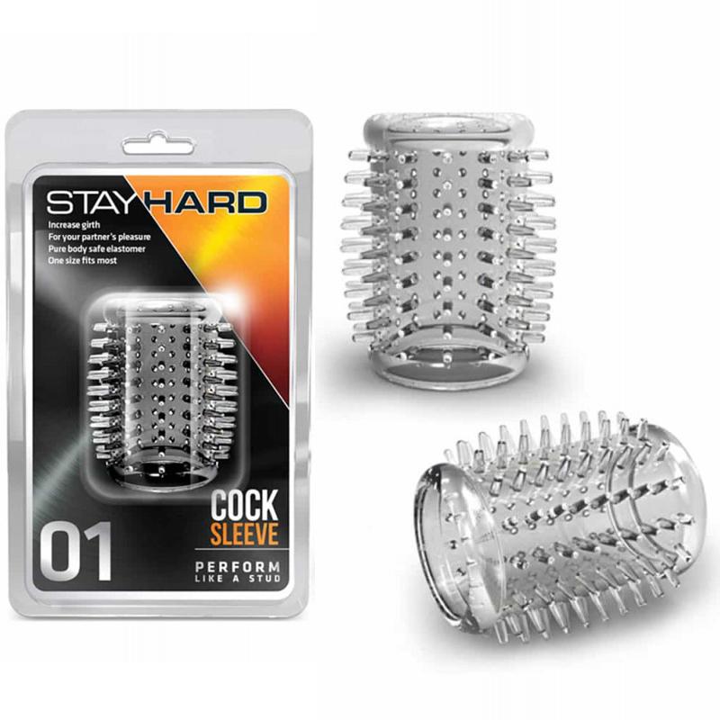 Пенис ръкав за допълнително удоволствие – Stay Hard 01