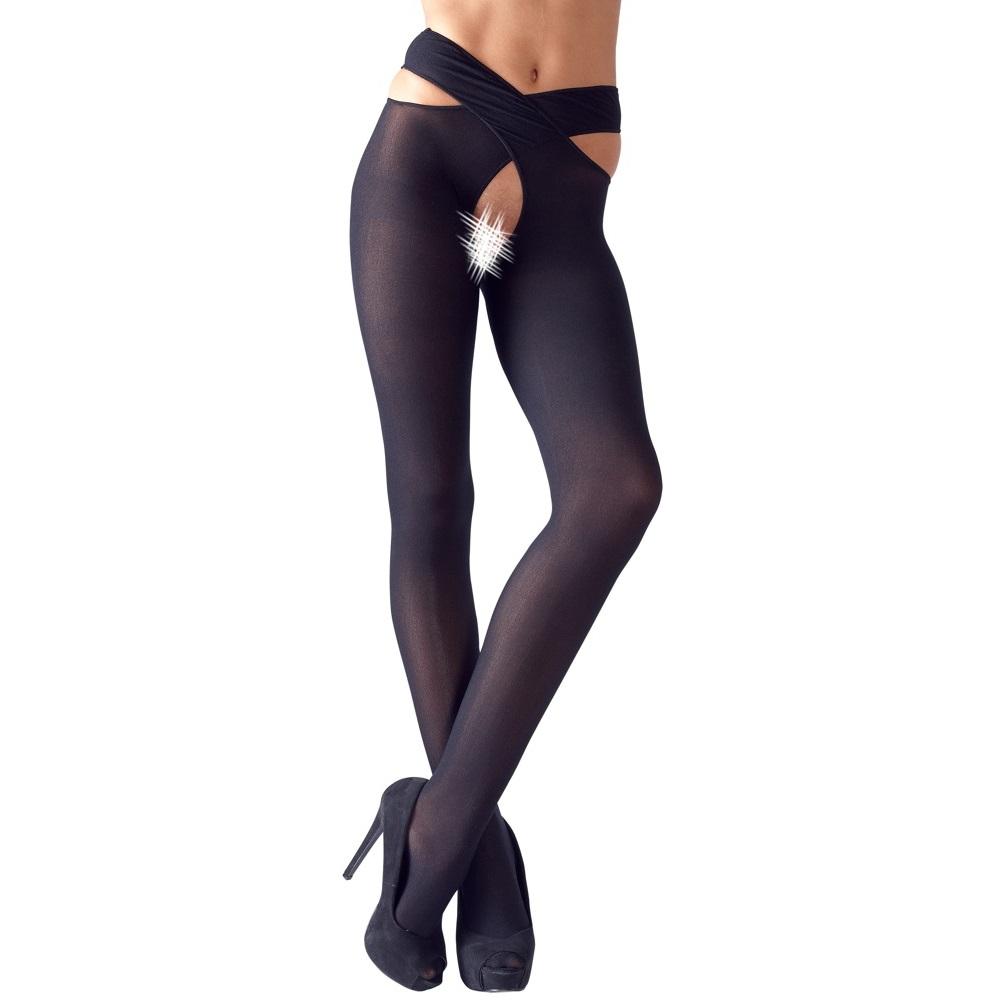 Чорапогащник с интимен отвор, секси изкушение – Stockings S/M