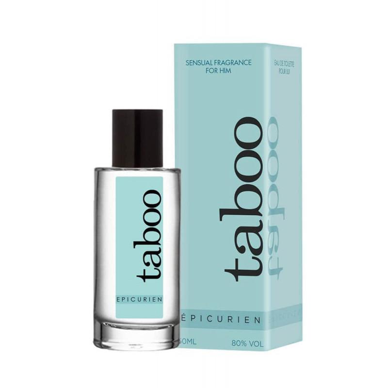 Тоалетна вода с феромони, чувствен аромат за него – Taboo Epicurien 50ml