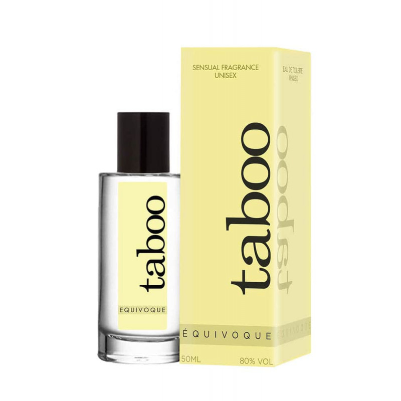 Тоалетна вода с феромони, чувствен аромат за тях, унисекс – Taboo Equivoque