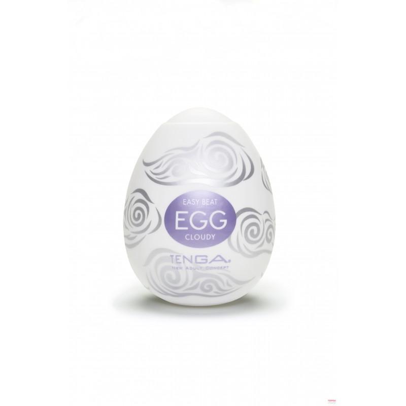 Мастурбатор яйце за небесен оргазъм – Tenga Egg Cloudy