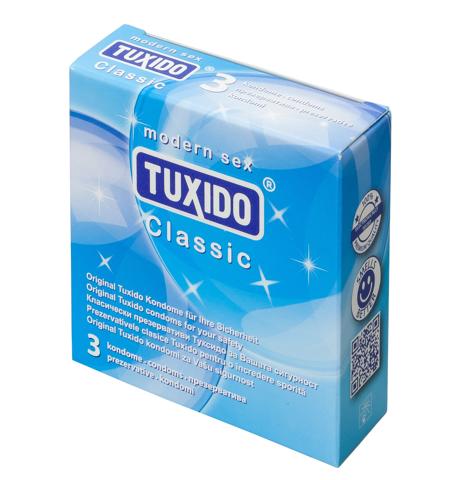 Презервативи, класически, 3 броя – Tuxido Classic