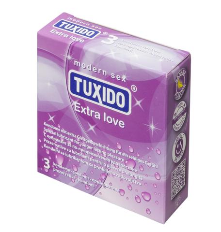 Презервативи за продължителна любов, 3 броя – Tuxido Extra Love