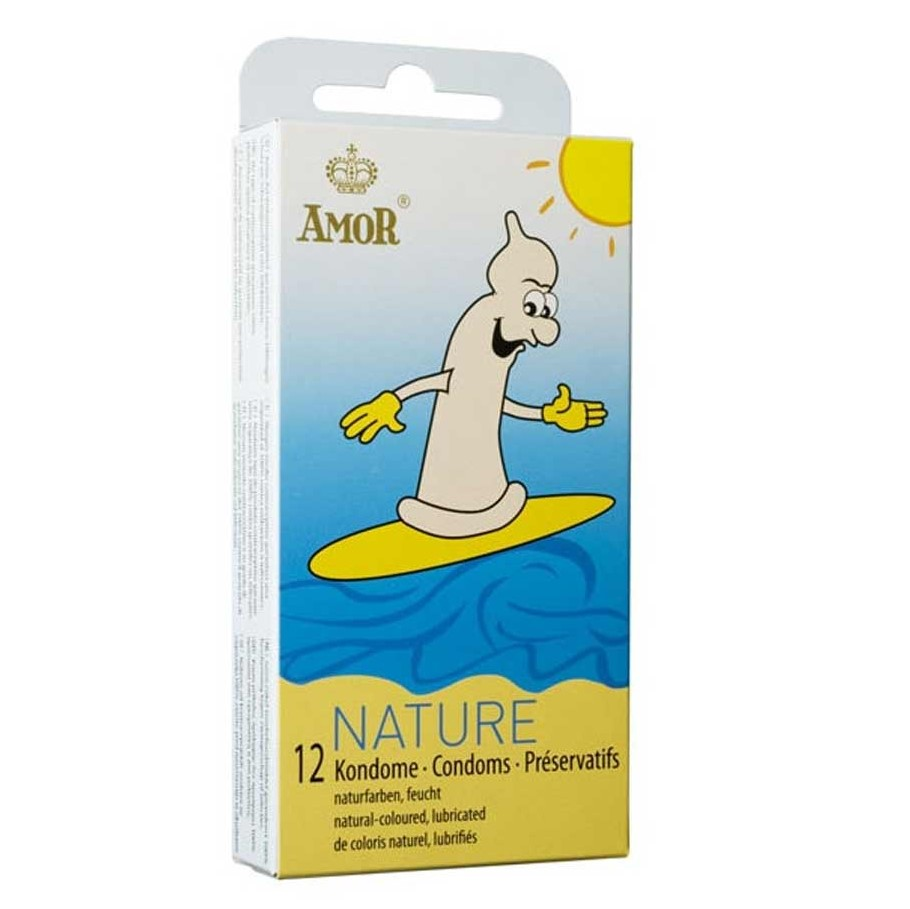 Презервативи, натурални, 12бр. – Amor Nature