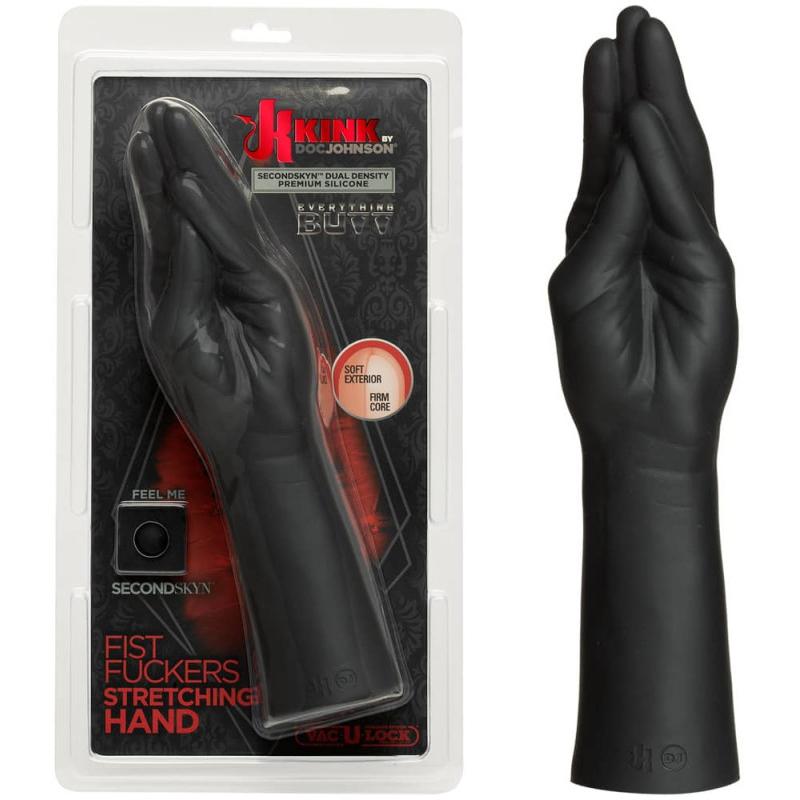 Фистинг ръка от силикон с двойна плътност – Fist Fuckers Stretching Hand