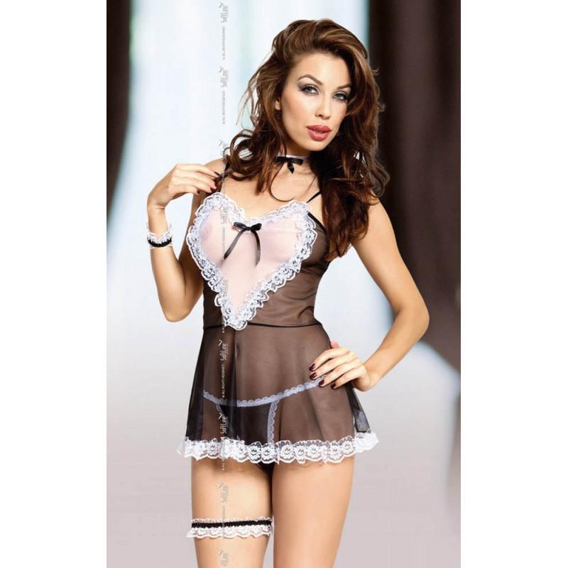 Секси костюм на прислужница – Lola S/M