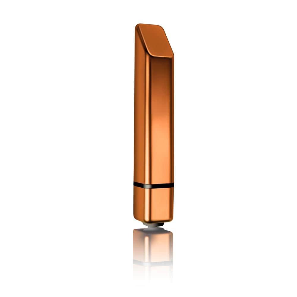 Мини вибратор, дискретен и стилен, слънчево избухване 11,6см. – Bamboo Sun Burst