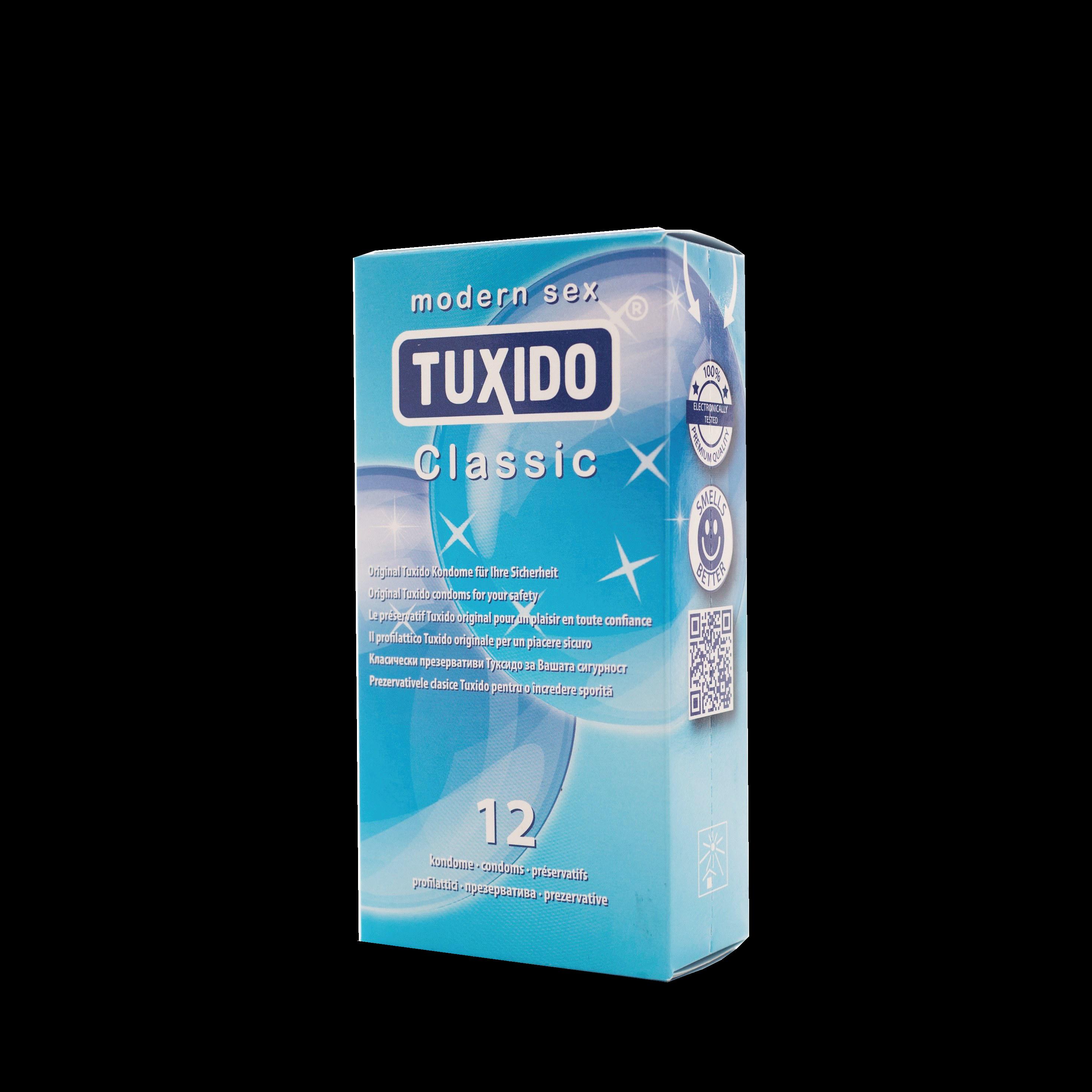 Презервативи, класически 12 броя – Tuxido Classic