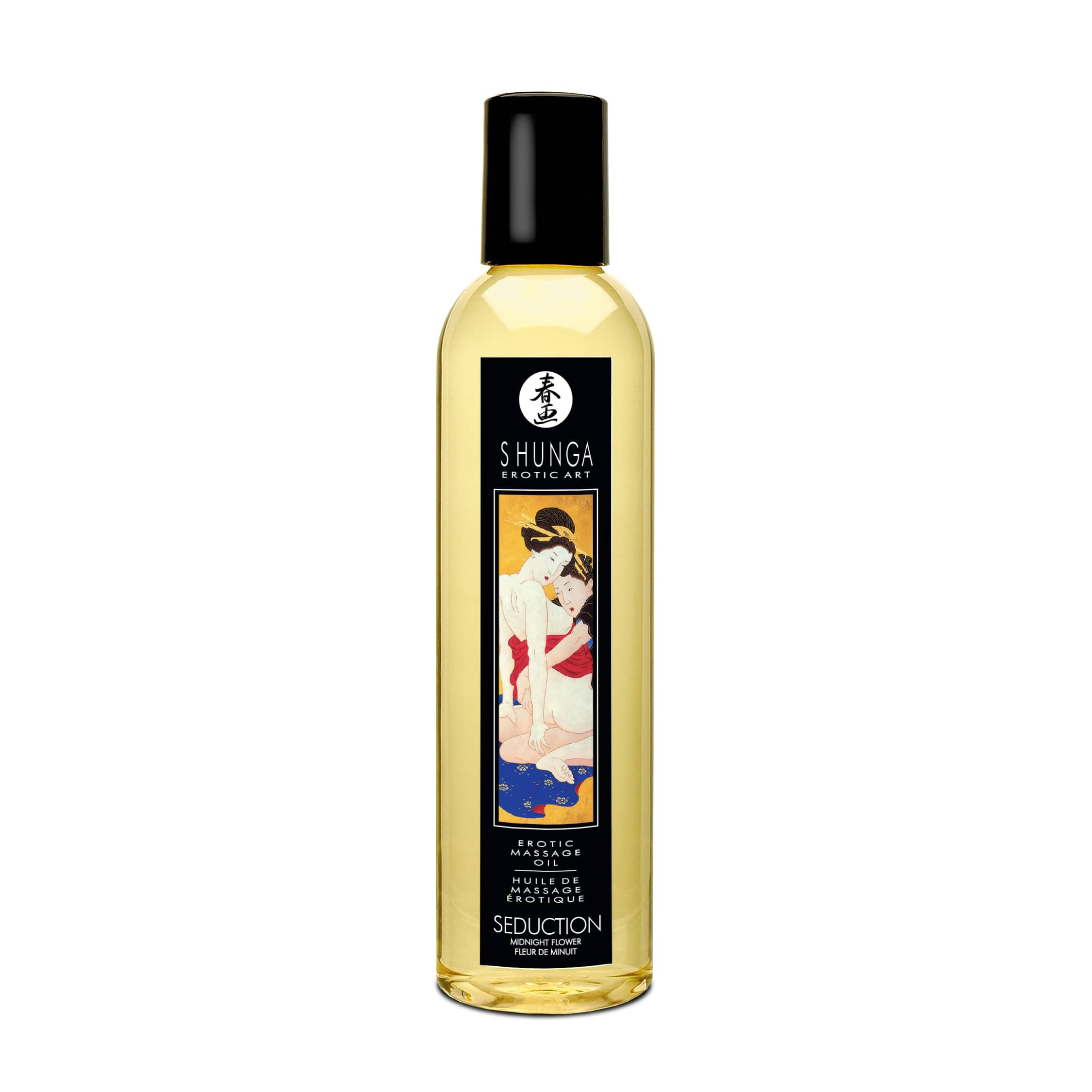 Erotic Massage Oil Midnight Flower 250ml.