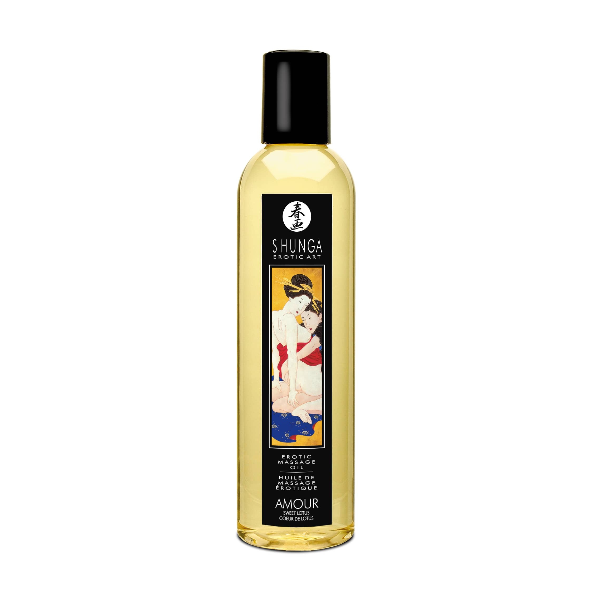 Erotic Massage Oil Sweet Lotus 250ml.