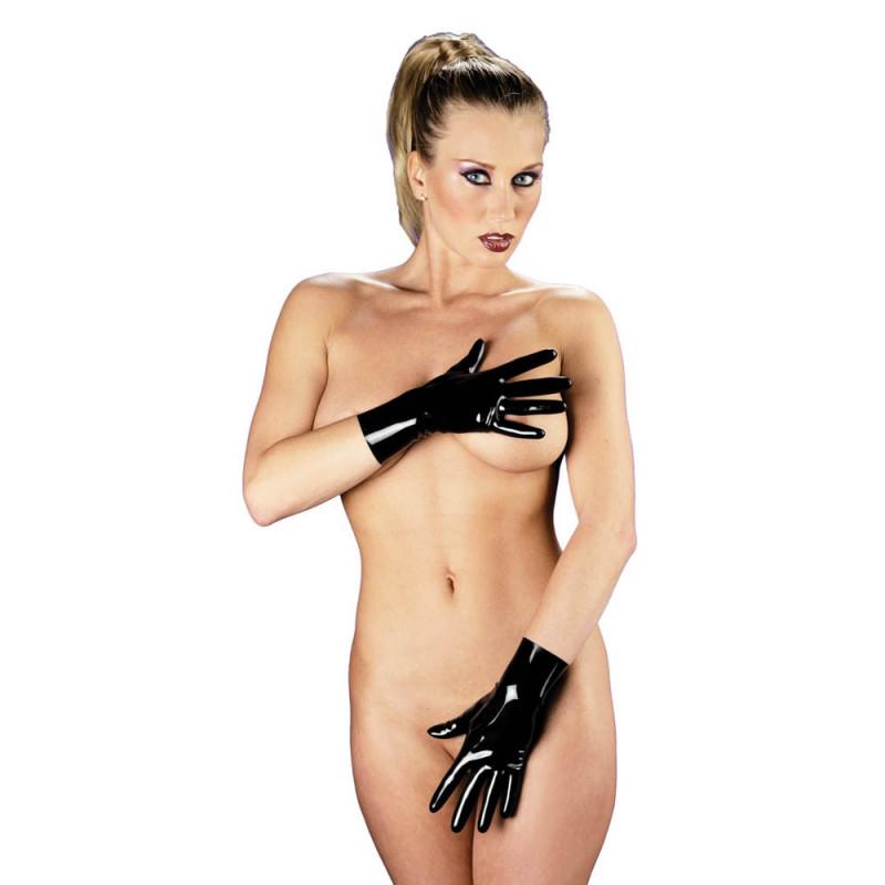Къси ръкавици от латекс, размер L – Gloves Long