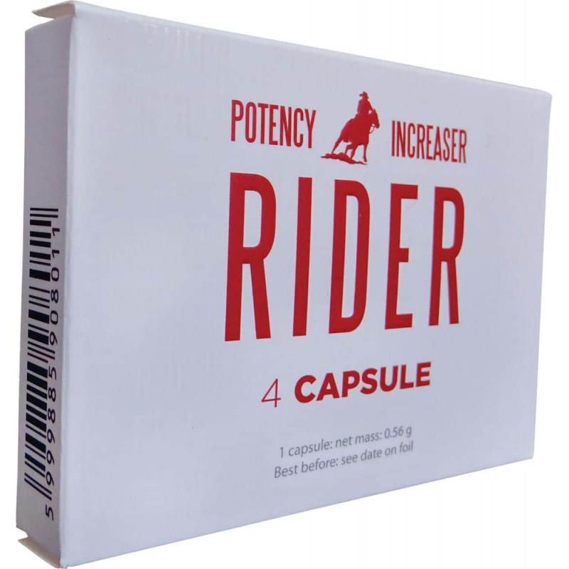 Rider – potency increaser 4pcs